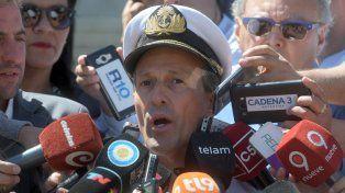 Cambio operacional. El portavoz de la Armada notificó que no hay expectativas de encontrarlos con vida.