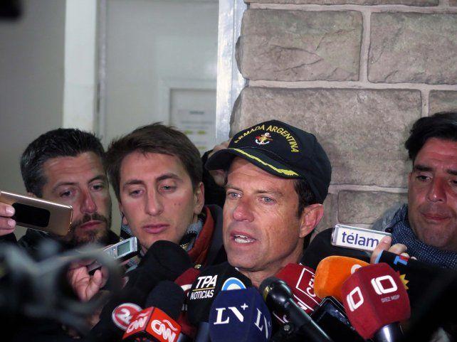 Balbi: Al momento no tenemos ningún rastro del submarino