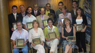 Los primeros premiados