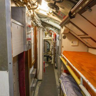 Foto ilustrativa. Submarino militar británico HMS Ocelot, que actualmente se expone en Chatham Historic Dockyad.