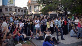 La votación. FotoUNOMateo Oviedo