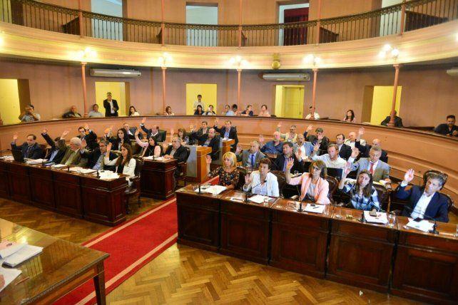 Sesión. El titular de la Comisión de Hacienda