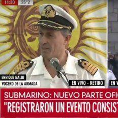 Parte de la Armada:Se registró una explosión en el área de búsqueda del submarino ARA San Juan