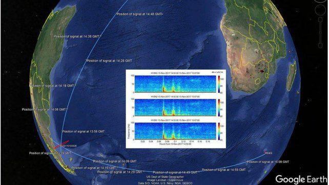 Submarino ARA San Juan: Difundieron frecuencia, hora y lugar de la explosión