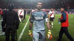 Marcelo Barovero le cerró la puerta a River