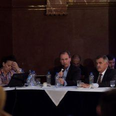 Sintonía fina. Bordet pidió apoyar el pacto fiscal que impulsa el gobierno nacional.