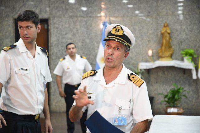 El vocero de la Armada dijo que no se ha podido detectar al submarino