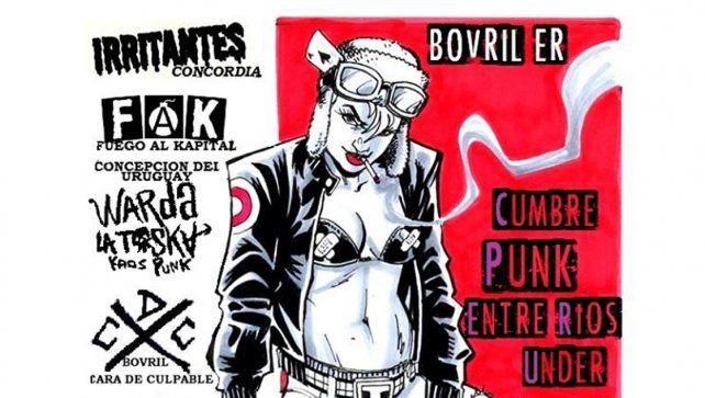 Se realizará en Bovril la primera Cumbre Entrerriana de Punk