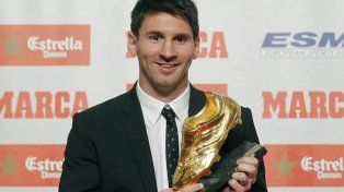 Lionel Messi, tras ganar la Bota de Oro: Cada día disfruto más de ser jugador