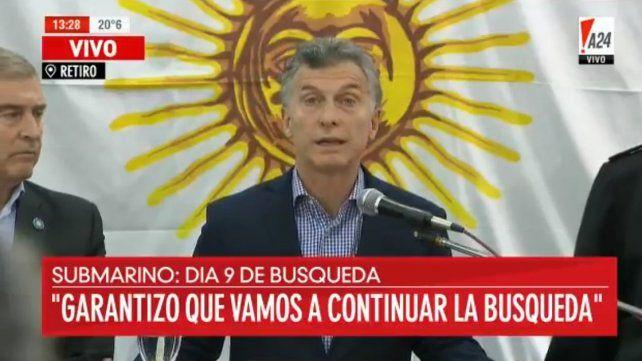 Macri: Vamos a recorrer este camino hasta el final todos juntos