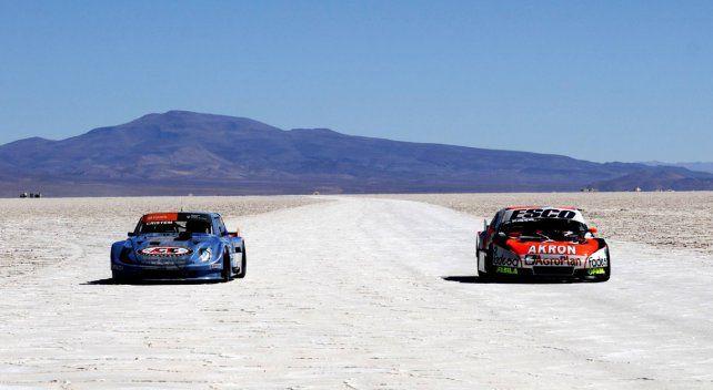 Ushuaia fue el lugar elegido para presentar la última carrera del año del TC