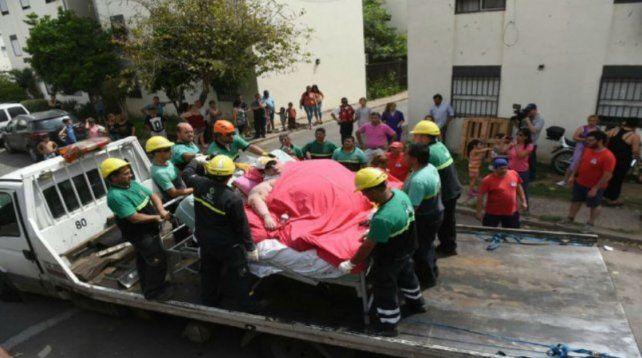 Murió la joven rosarina que pesaba 490 kilos