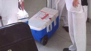 Una nueva ablación de órganos y tejidos para trasplantes se realizó en Crespo