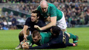 Los Pumas no pudieron ante Irlanda