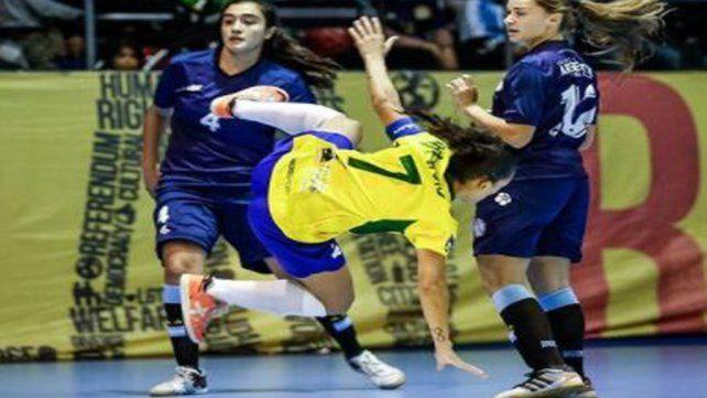 Argentina no pudo con brasil en la final de futsal