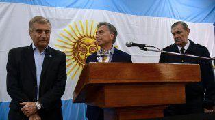Poco para decir. El ministro Aguad y Macri