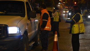 Se labraron 50 actas de infracción y se secuestraron 26 vehículos por alcoholemia positiva