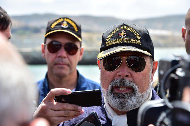 Claudio Perez Ortiguera de la Armada