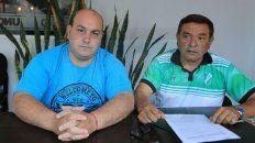 Gabriel Jorge y Daniel López, del club de Deportivo Strobel, formalizaron una denuncia penal.