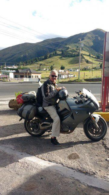 El recorrido. Albornoz viajó durante 66 días y atravesó los paisajes más lindos del continente.