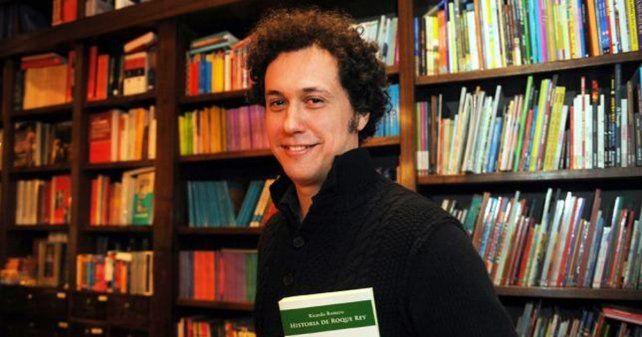 ganadores. Ricardo Romero (foto) en el género novela y Miguel Ángel Federik en poesía.