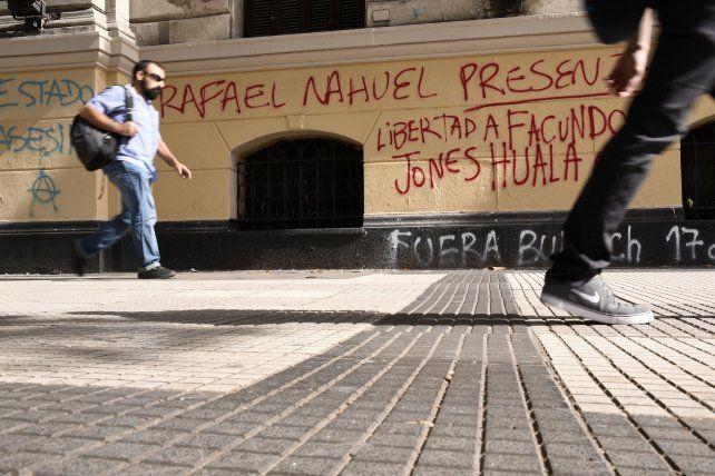 Sobre la muerte de Nahuel y las tomas mapuches Bullrich aseguró: Llevamos adelante una acción legítima, enmarcada en la ley