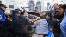 violencia. La movilización terminó con serios disturbios en 2015.