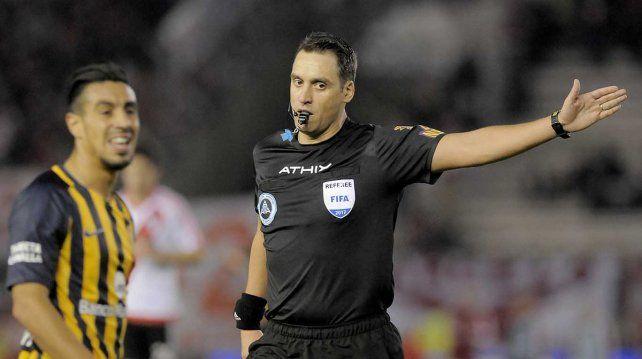 Fernando Rapallini será el árbitro de la final de la Copa Argentina