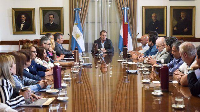 Agenda legislativa. El gobernador solicitó el acompañamiento del acuerdo con la Nación.