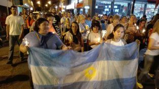 Concordia marchó en el día del cumpleaños del submarinista Fernando Mendoza