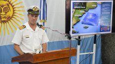 se redefinio el area de busqueda del submarino ara san juan