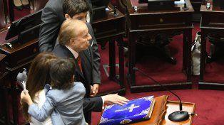 Juraron 23 de los 24 senadores nacionales elegidos en octubre