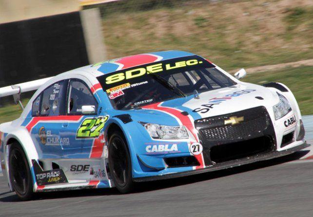 Mariano Altuna buscará el título del Top Race en Paraná