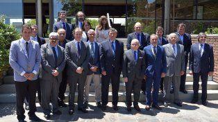 Cumbre. Se desarrolló en la delegación del Uruguay de la Comisión Técnica Mixta Salto Grande.