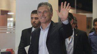 A media mañana. Macri llegará a Paraná cerca de las 9