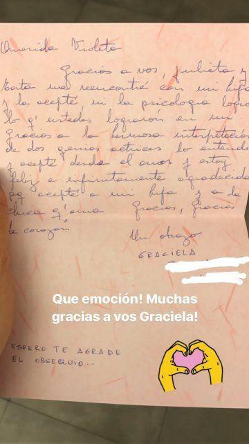 Una madre contó que aceptó a su hija lesbiana por el personaje de Violeta Urtizberea en Las Estrellas