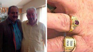 El discípulo de Julio Grondona que le regaló el famoso anillo con la frase Todo pasa