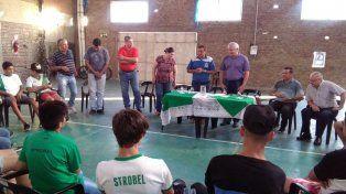 Dirigentes entrerrianos visitaron al Deportivo Strobel