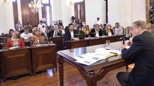 Interpelación. El FpV consultó por varios actos de violencia de funcionarios municipales. Foto: Concejo Deliberante