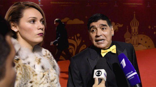 Maradona: Ojalá sea el Mundial de Messi