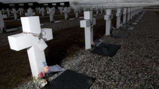 Después de 35 años lograron identificar a 88 soldados caídos en la guerra de Malvinas
