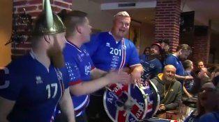 La reaccion de los islandeses al enterarse que jugarán contra Argentina