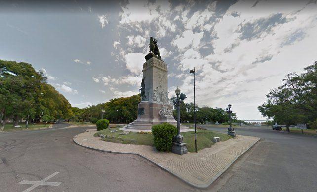 En pleno Parque Urquiza, asesinaron a un joven de un tiro en la cabeza