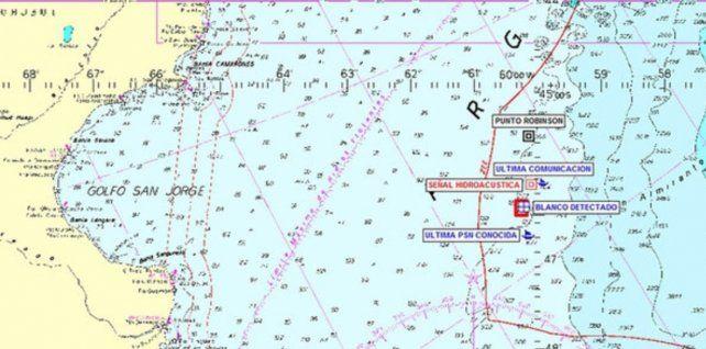 Un buque científico detectó una imagen de sonar compatible con el ARA San Juan
