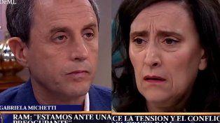 Michetti y Tenembaum discutieron en la Mesa de Mirtha por la muerte de Rafael Nahuel