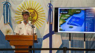 En un nuevo parte, la Armada informó que se siguen investigando puntos