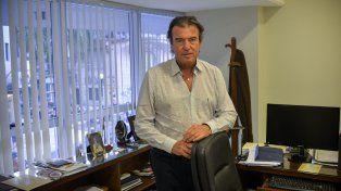 Desde su despacho en la Sala Nº 2 en lo Civil y Comercial. Foto UNO Mateo Oviedo.