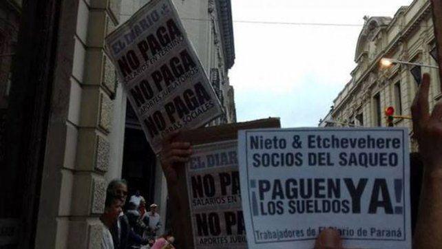 Los trabajadores de El Diario denunciaron el lockout patronal