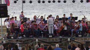 La orquesta Río de los pájaros cosechó aplausos