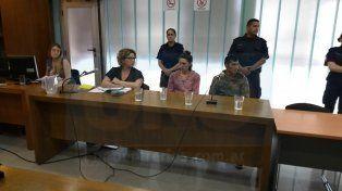 Imputados. Portillo y Herrera fueron acusados por el homicidio simple. Foto: Juan Manuel Hernández